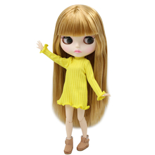 ICY Neo Blythe Doll Golden Hair Jointed Body 30cm