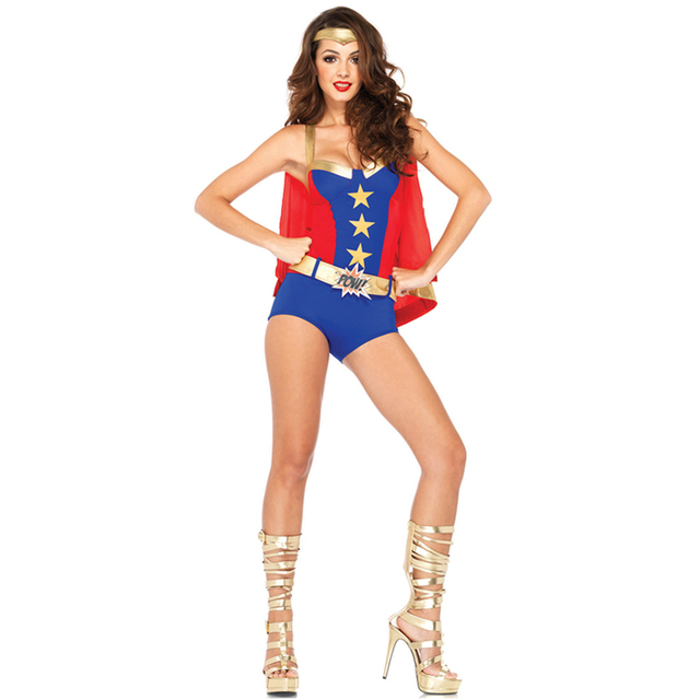 2015 Comic Book Heros Three-piece Super Hero Romper Sexy Supergirl Costume Superhero Costumes and  sc 1 st  AliExpress.com & 2015 Comic Book Heros Three piece Super Hero Romper Sexy Supergirl ...