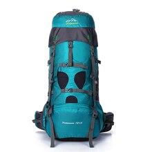 Feel pioneer 75l professionelle bergsteigen klettern rucksack reise mochilas laptop back taschen camp hike ausrüstung für männer frauen