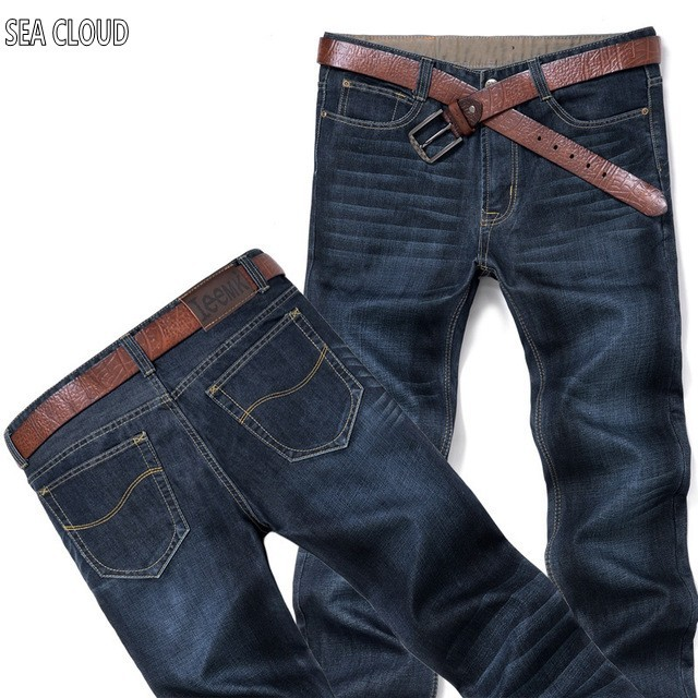 Sea Cloud plus size 8xl 4xl 6xl 48 mens hiphop pants cotton tops black blue jeans men long trousers brand famous brand mens sports pants bloomers black size xl