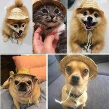 Шляпа для питомца сомбреро, шляпа для собак, кошек, шапка для маленьких питомцев, аксессуары для улицы, походные товары для животных, шапки для маленьких/больших собак