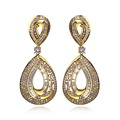New Look earrings for women Made with AAA Cubic Zirconia Wedding earrings Allergy Free Lead Free