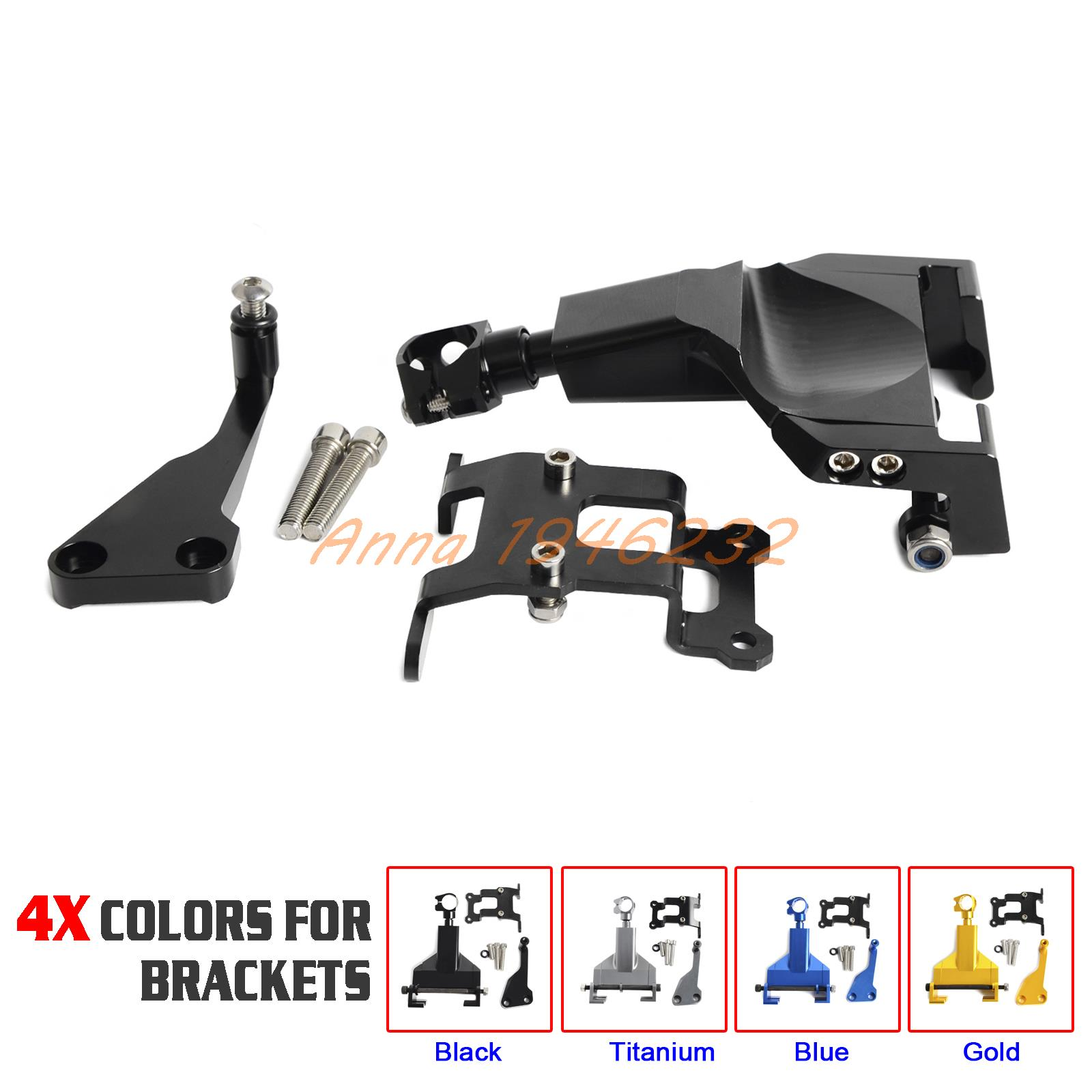 Motorcycle Stablizer Steering Damper Mounting Bracket For YAMAHA MT07 FZ 07 MOTO CAGE 2014 2015 2016 for yamaha mt 03 2015 2016 mt 25 2015 2016 mobile phone navigation bracket