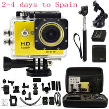 KEBO 2.0″ LCD WIFI 1080P 30M Waterproof Sport Camera Action Camera 12Mp 170 wide-angle Car Recorder DVR