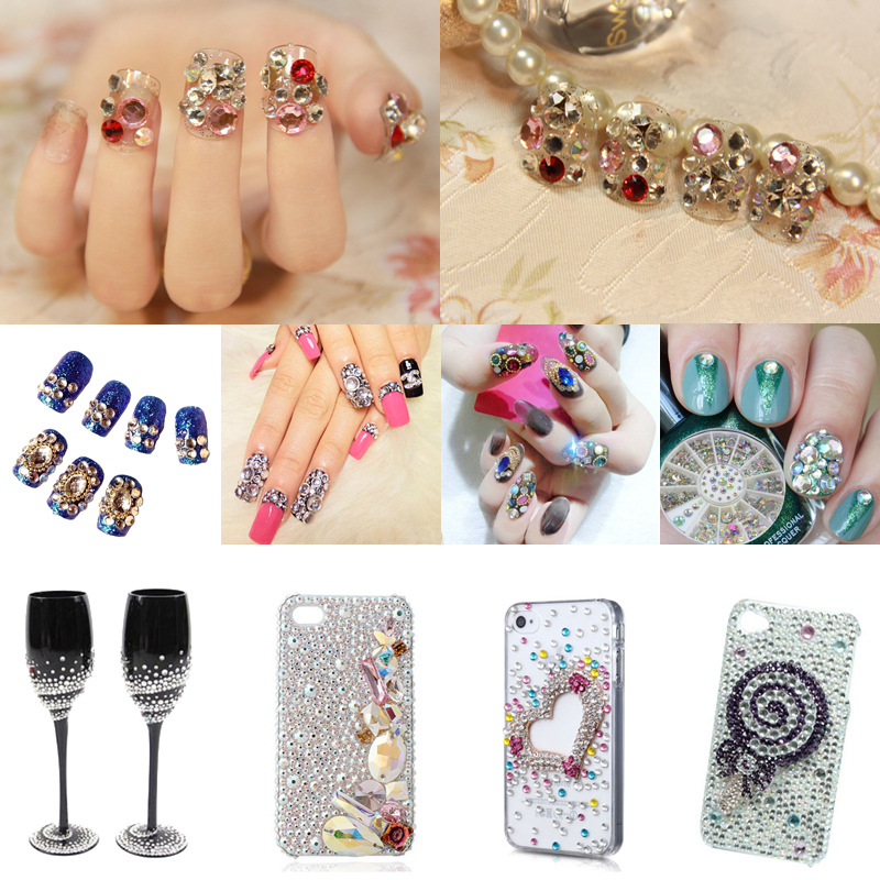 B7000 Glue Glue Tube for Glass Non Hot Fix Rhinestone Glue on Nail Art Decoration Glass Shoes Phone Case DIY in Rhinestones from Home Garden