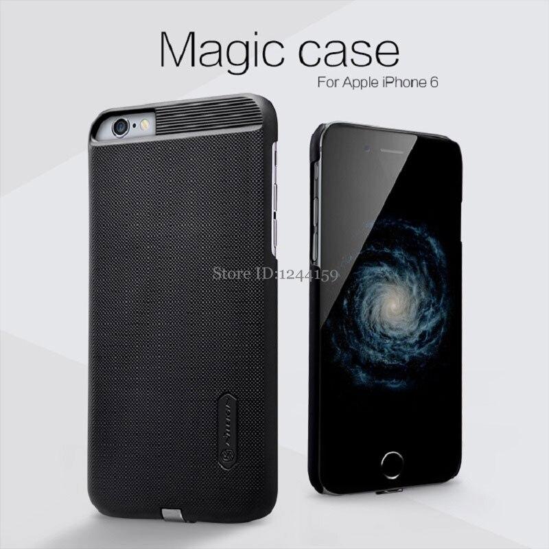 imágenes para Nillkin Qi Receptor Sin Hilos del cargador Inteligente de Carga Cubierta de la Caja Mágica para iPhone 5 se 6 7 iPhone 6 s 7 Plus Capa 5S ORIGINAL A Granel