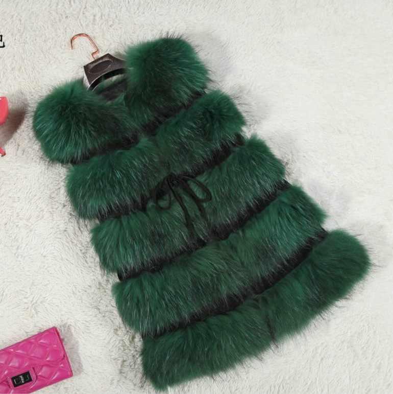 1691060557f Imitation fox fur vest coats female Fluffy Women Fur Coats Thick Warm Sleeveless  Faux Fur Coat
