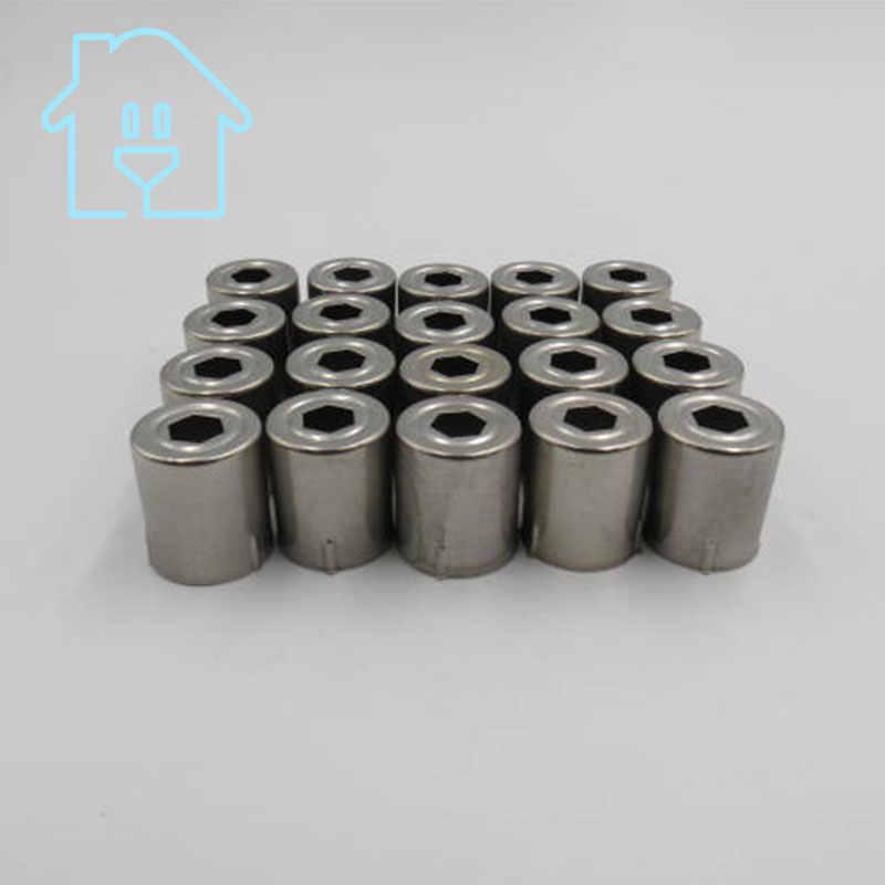 (20 por lote) reemplazo de tapa de acero horno de microondas agujero del Pentagon 20 piezas tono plateado 38% de descuento nuevo sin usar