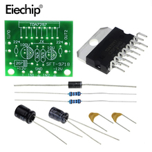Eiechip 1set TDA7297 for arduino kit TDA7297 amplifier board spare parts dc 12v