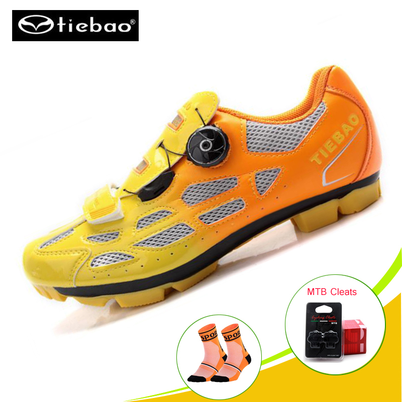 Tiebao mtb Cycling sneaker Mens Breathable Cycling shoes mtb cleats Mountain bike shoes Self-Locking Athletic Bicycle ShoeTiebao mtb Cycling sneaker Mens Breathable Cycling shoes mtb cleats Mountain bike shoes Self-Locking Athletic Bicycle Shoe