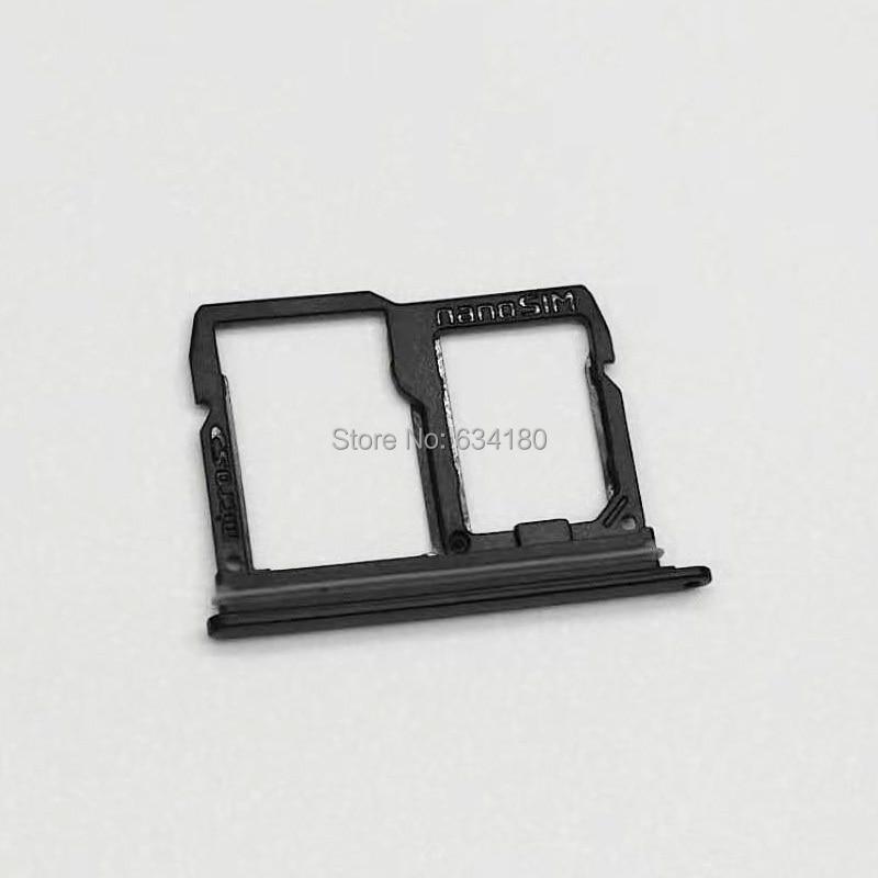 Nano SIM&Micro SIM Card Tray Holder Micro SD Card Slot Holder Adapter For  LG Stylo 4 / Q Stylus / Q Stylus Plus 6 2inch