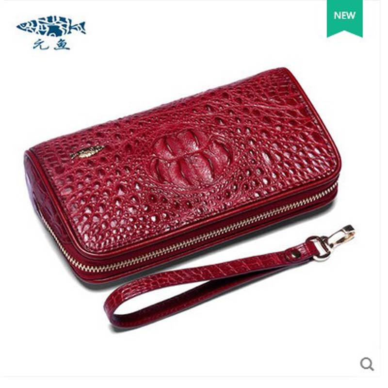 2018 yuanyu new crocodile women purse thailand crocodile leather women bag women clutches yuanyu new crocodile wallet alligatorreal leather women bag real crocodile leather women purse women clutches