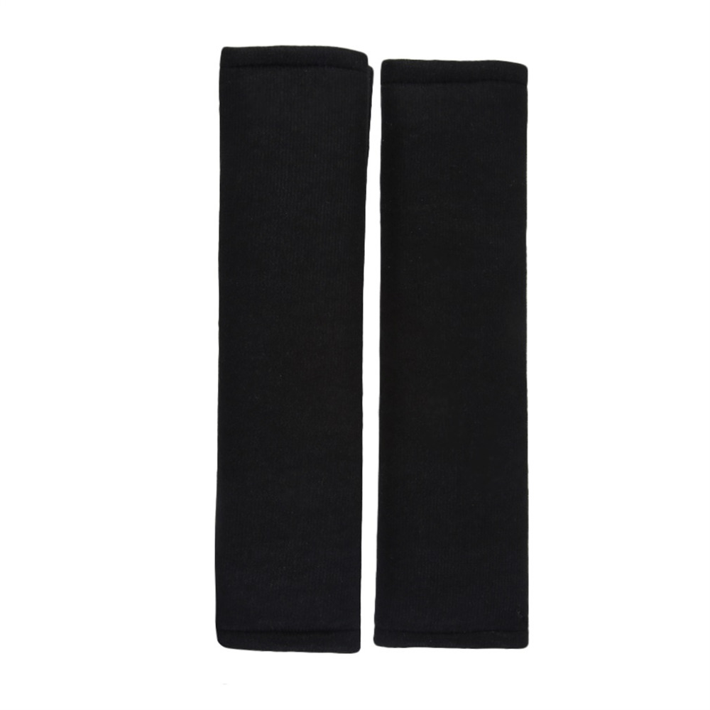 HSC 2Pcs Car Comfortable Safety Seat Belt Shoulder Pads Cover Soft Cushion Harness Pad Truck Strap Cover Automotive Accessories