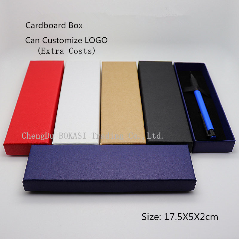 Wholesale Cardboard Gift Case Black Paper Pen Box Manufacturer Custom Jewelry Boxes Can Customize LOGO C031