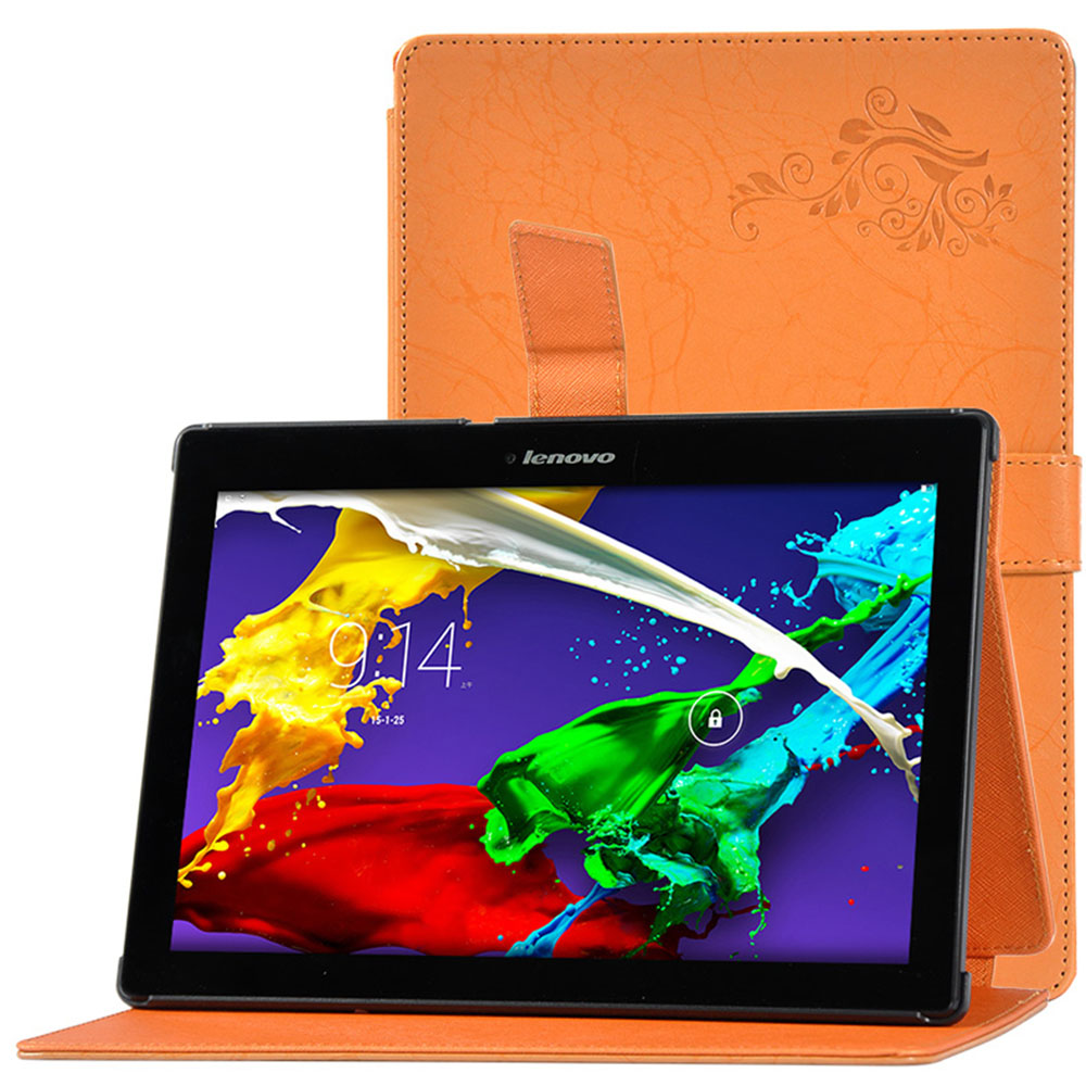 Fashion Print Patter PU Leather Protective Folding Folio Case for Lenovo TAB 10 TB-X103F for 10.1inch Lenovo TAB X103F Tablet