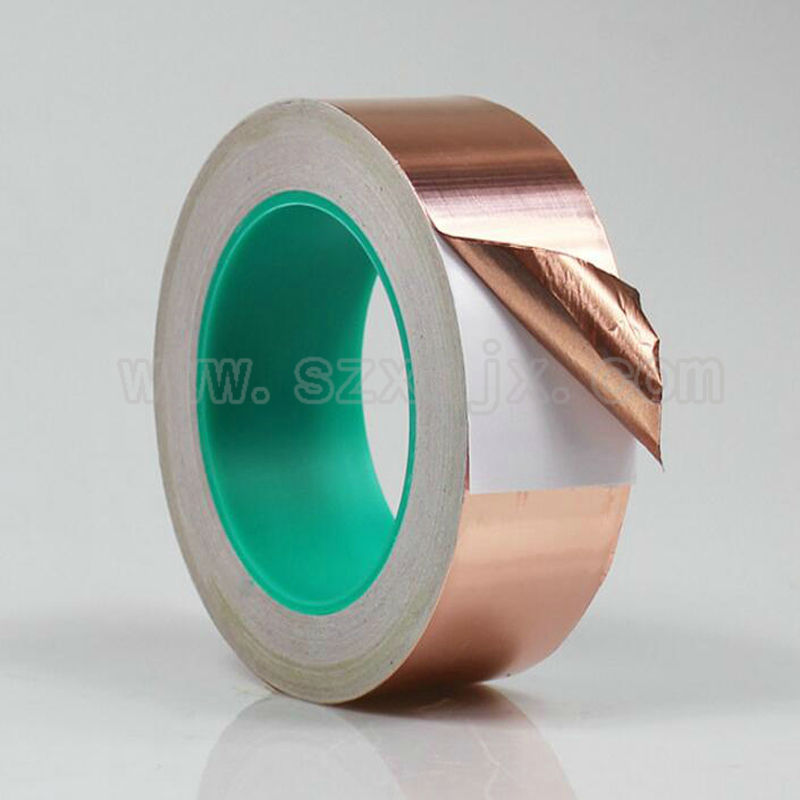 3 x 22 yards Copper Foil Tape Conductive EMI Shielding 75mm Free shipping abus 74hb 40 75 mk loto non conductive 3 inch shackle purple