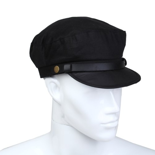 Analytical Syb 2018 New Captain Sailor Marine Cap Cotton Color Black Men New Ample Supply And Prompt Delivery