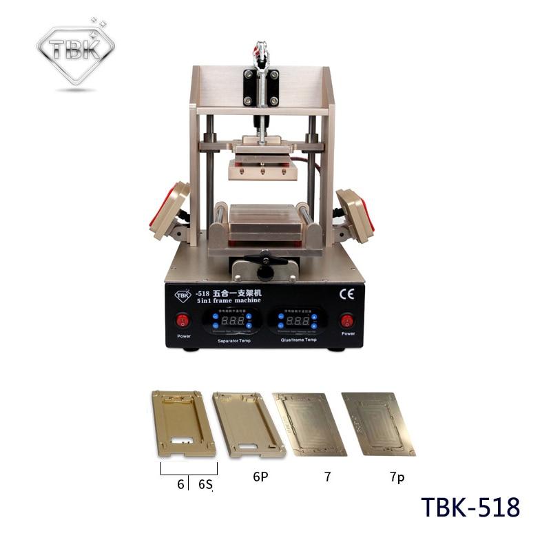 TBK-808 LCD OCA vakuuminio laminavimo mašina + 518 5in1 LCD - Įrankių komplektai - Nuotrauka 6