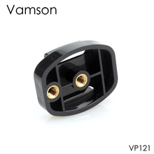 "Vamson עבור Gopro גיבור 8 7 6 5 4 מצלמה אביזרי שחרור מהיר חצובה הרכבה מתאם 1/4 ""בורג שטוח אבזם עבור יי 4K VP121"