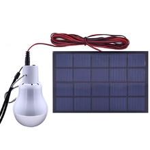 LED Solar Bulb Light Powered Portable Solar Camping Tent Light for Keeping 6-7 Hours in Lighting