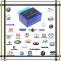Super Mini Bluetooth ELM327 OBD 2 II CAN-BUS V1.5 Diagnostic Scanner Tool Blue, Free Shipping