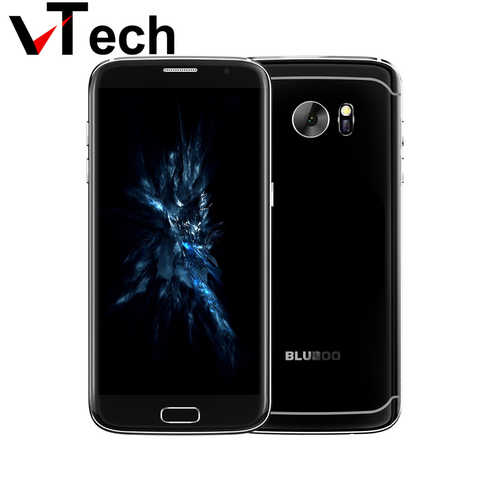 "Presale Bluboo Edge 5.5"" Double Sided Curvy 4G LTE Smartphone MTK6737 Quad Core 2+16GB 13MP Android 6.0 Fingerprint Mobile Phone"