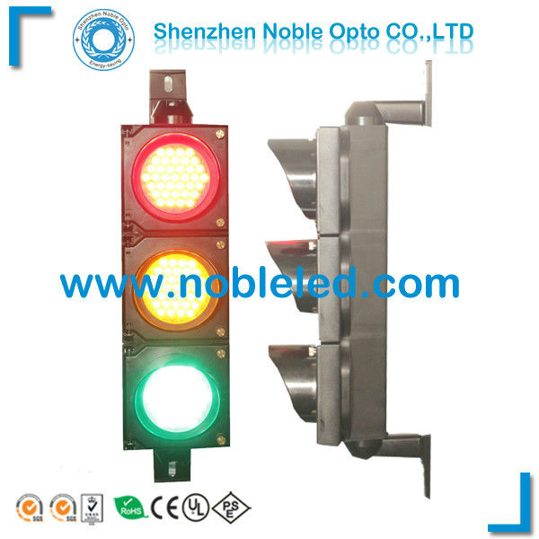 Parking Lot Used 100mm Traffic Signl Light With 3 Section