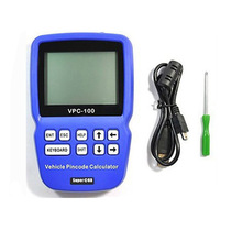 New Arrival VPC-100 Hand-Held Vehicle PinCode Calculator (With 300 Tokens) VPC 100 Support Almost All Cars