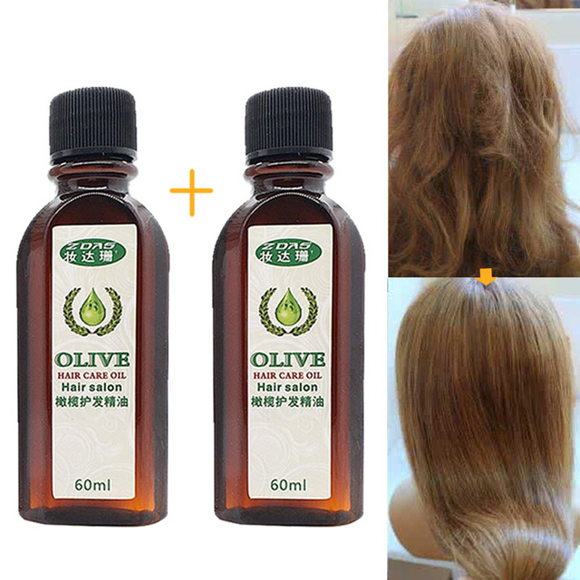 Huile olive cheveux secs