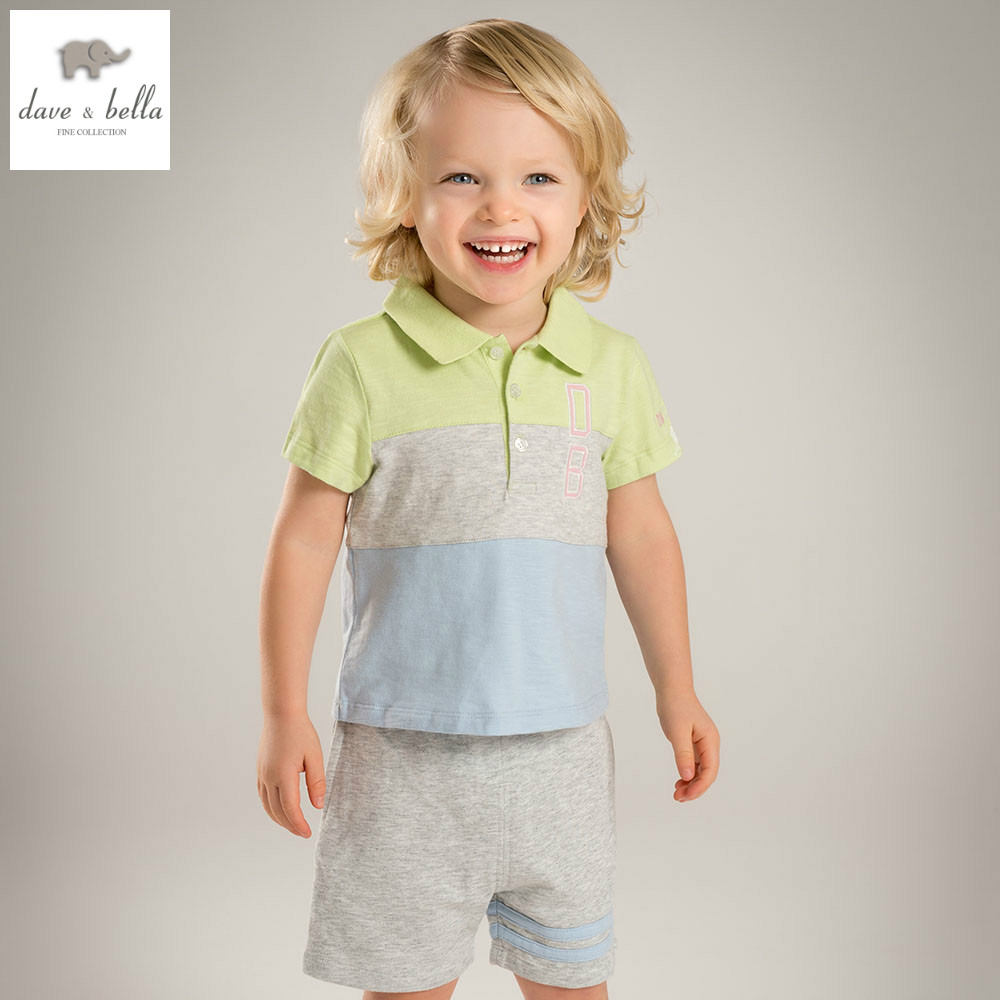 DB4760 dave bella summer baby boys clothing sets gray patchwork sets child sets infant clothes kids sets baby costumes db5192 dave bella summer baby girls fashion clothing sets kids stylish clothing sets toddle cloth kids sets baby fancy clothes