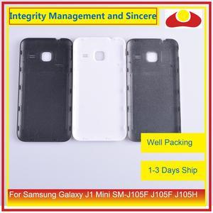 Image 5 - 10 pièces/lot pour Samsung Galaxy J1 Mini SM J105F J105F J105H J105 boîtier batterie porte arrière housse châssis coque