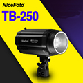 NiceFoto TB-250B 250 Вт студийная вспышка быстрая утилизация времени TB 250B студия профессиональная фотостудия световая лампа сенсорная кнопка