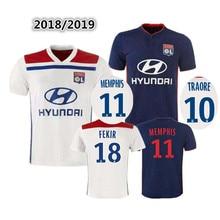 be7881fd 2018 adults T-shirt Olympique Lyonnais shirt 18 19 Lyon men shirts soccer  jersey LACAZETTE