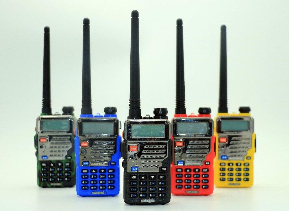 2 pcs Baofeng UV-5RE Talkie Walkie Double Bande UV 5RE CB Radio 128CH VOX lampe de Poche Portable Radio Professionnel FM Émetteur-Récepteur