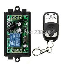 DC12V 1CH 10A радио Управление; RF Беспроводной кнопочный пульт дистанционного Управление переключатель 315 МГц, 433 МГц Телескопический передатчик+ приемник