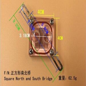 Image 3 - Beiqiao nước làm mát đầu Nam Bắc Cầu Nước Làm Mát Waterblock Với G1/4 Cho Nước Máy Tính Làm Mát