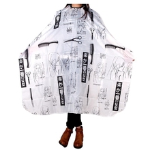 Adult Salon Barber Gown Cape Hairdressing Hairdresser Hair Cutting Cloth Black salon home use adult hair cutting cape hairdressing dye salon apron barber gown cosmetic tools