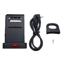 Mini Square Shisha Hookah Charcoal Stove Heater with EU Plug Cable Charcoal Oven Hot Plate Coal Burner Shisha Pipes Accessories