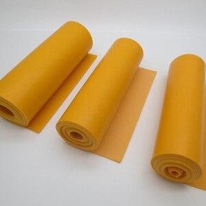 Image 3 - GZK China good quality roll rubber orange color flat rubber bands 200cm*15cm*0.66mm 0.72mm 0.8mm   for DIY slingshot huinting