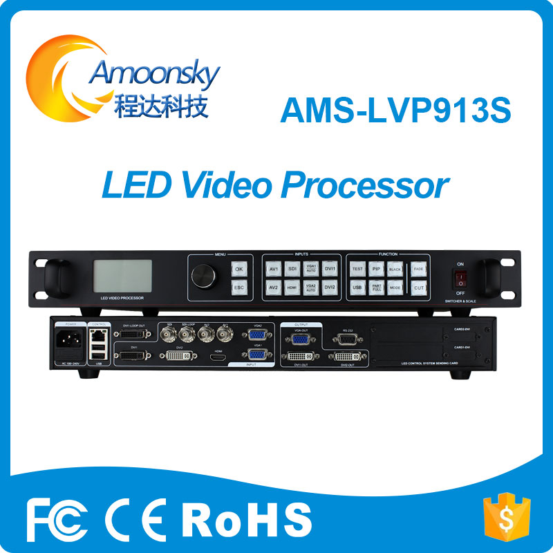 new products ams-lvp913s led 16x16 dot matrix display module best hdmi quad view video processor support absen led screen ...
