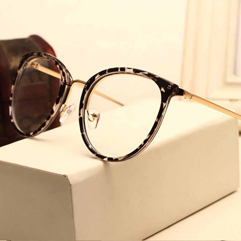 Новое поступление, старинное украшение, оптические очки в оправе при близорукости, круглые металлические женские очки, очки для глаз, очки oculos de grau