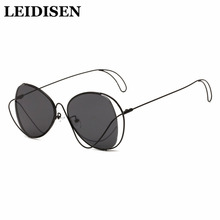 Sunglasses Women Polarized  Rhinestone Ladies Popular Fashion Shades Sun Glasses UV400 Aluminium Eyewear Box Sun Glasses Female