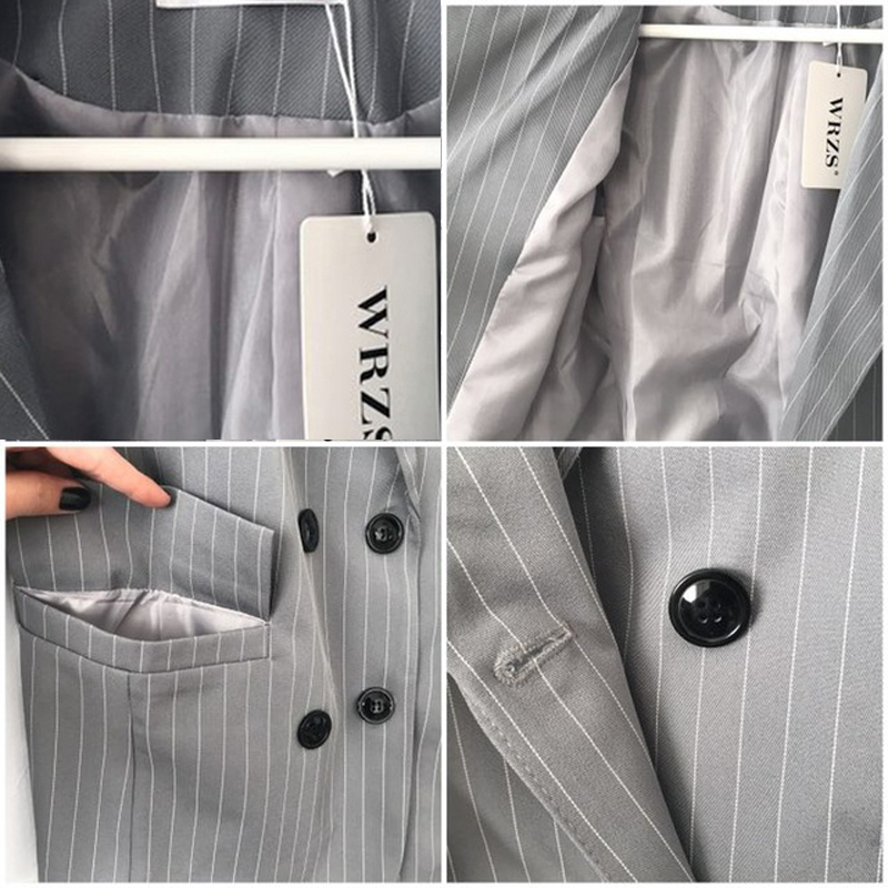 Work-Fashion-Pant-Suits-2-Piece-Sets-Double-Breasted-Stripe-Blazer-Jacket-Straight-Pant-Office-Lady-Suit-Women-Outfits-2018-2