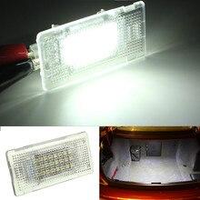 24 светодиодный интерьер свет ног Чемодан багажнике бардачок лампа для BMW E90 E92 E66 E61