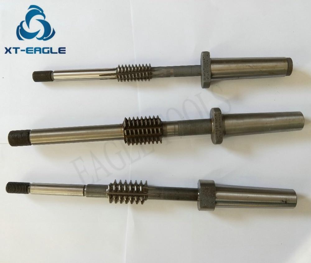 HSS M2.25 Module Taper Shank Worm Gear Hob Cutter