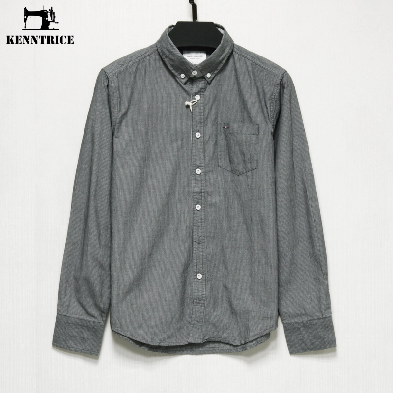 Kenntrice new arrived 2017 mens work shirts brand for White cotton work shirts