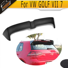 цена на GOLF VII 7 GTI Carbon Fiber Rear Trunk Lip Wing Spoiler For Volkswagen VW GOLF VII 7 O Style