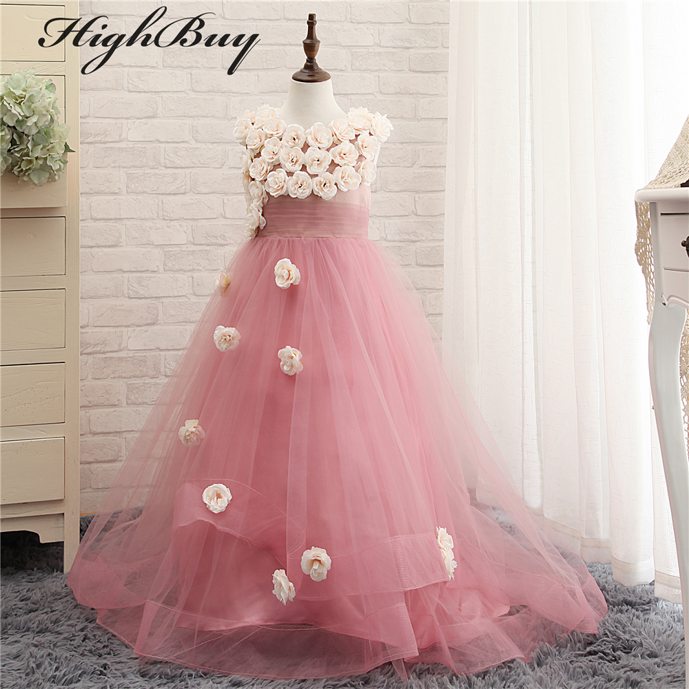 Gowns For Girls: Aliexpress.com : Buy HighBuy Charming 2017 Flower Girl