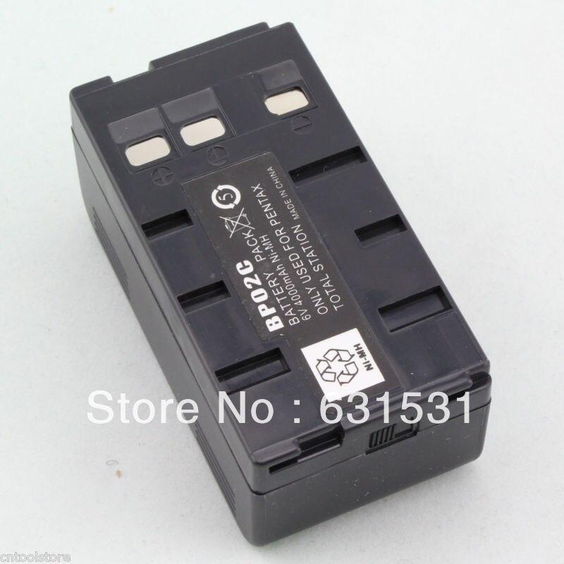 Ni MH BP02C Battery  for Pentax Total Stations 6V 4000mAhNi MH BP02C Battery  for Pentax Total Stations 6V 4000mAh