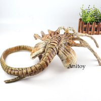 Alien Vs. Predator Alien Facehugger Figure Face Hugger Poseable Replica Alien Doll Figure Halloween Gift Decoration Toy 120cm